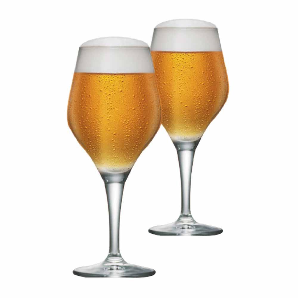 Jogo de Taças Cerveja Beer Sommelier Cristal 615ml 2 Pcs