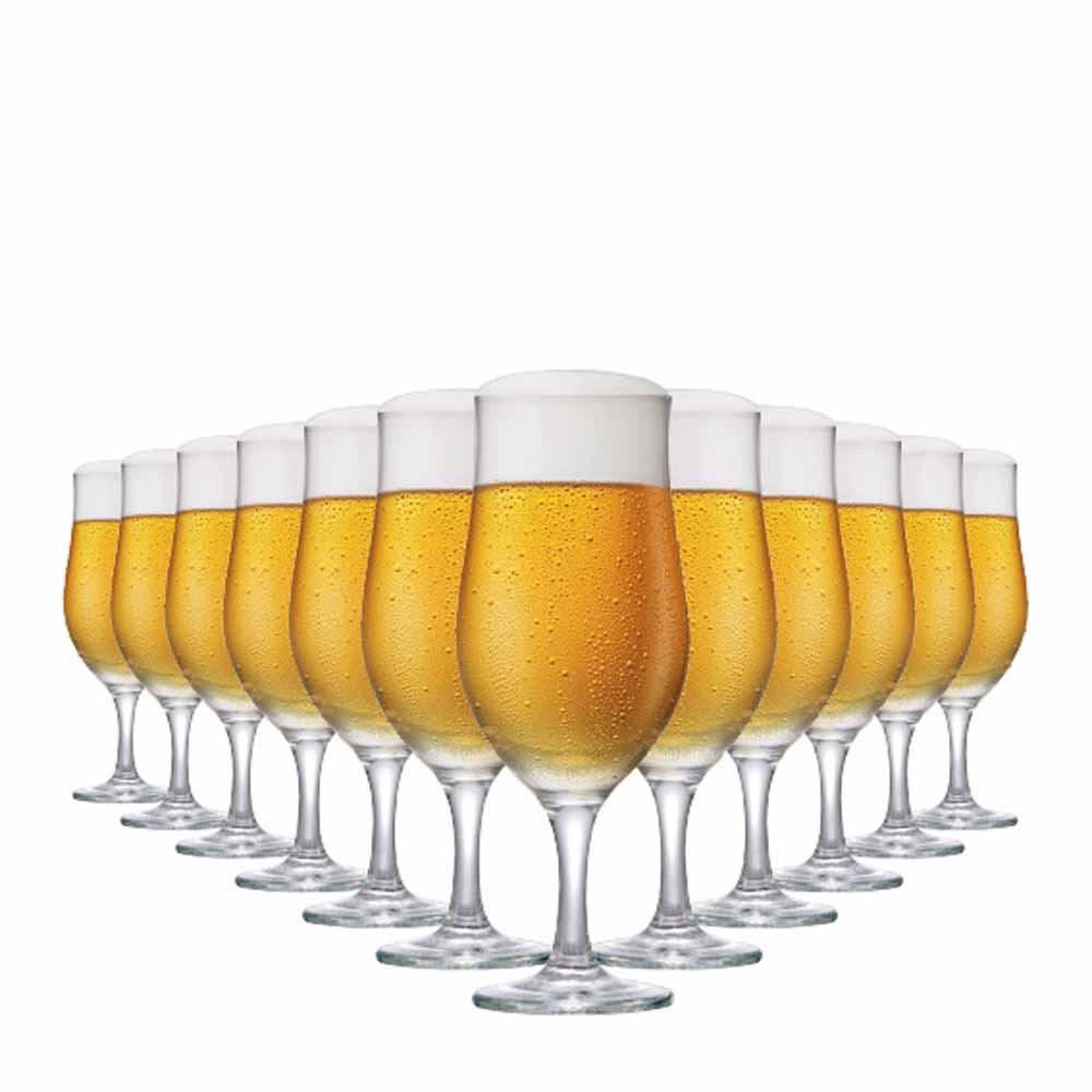 Jogo de Taças Cerveja Berlin Vidro 330ml 12 Pcs