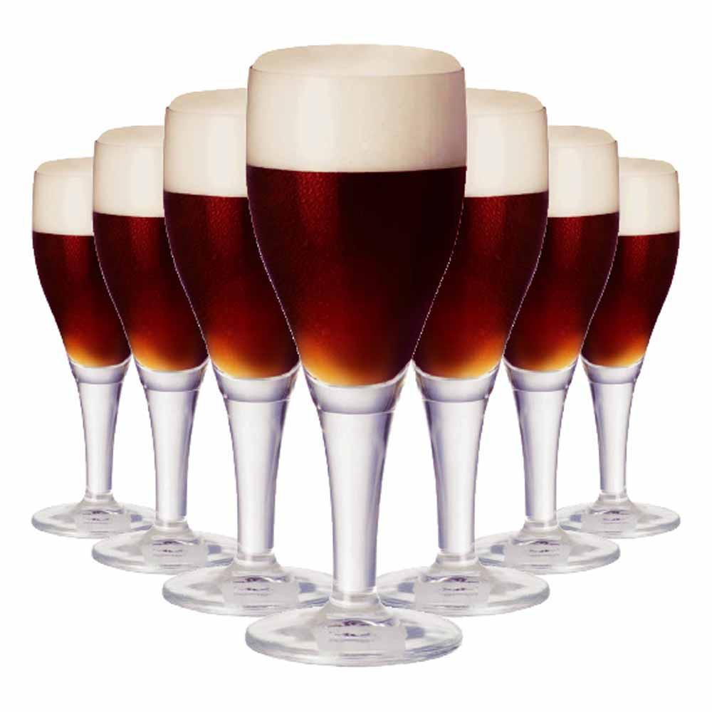 Jogo de Taças Cerveja Harzer Cristal 430ml 6 Pcs
