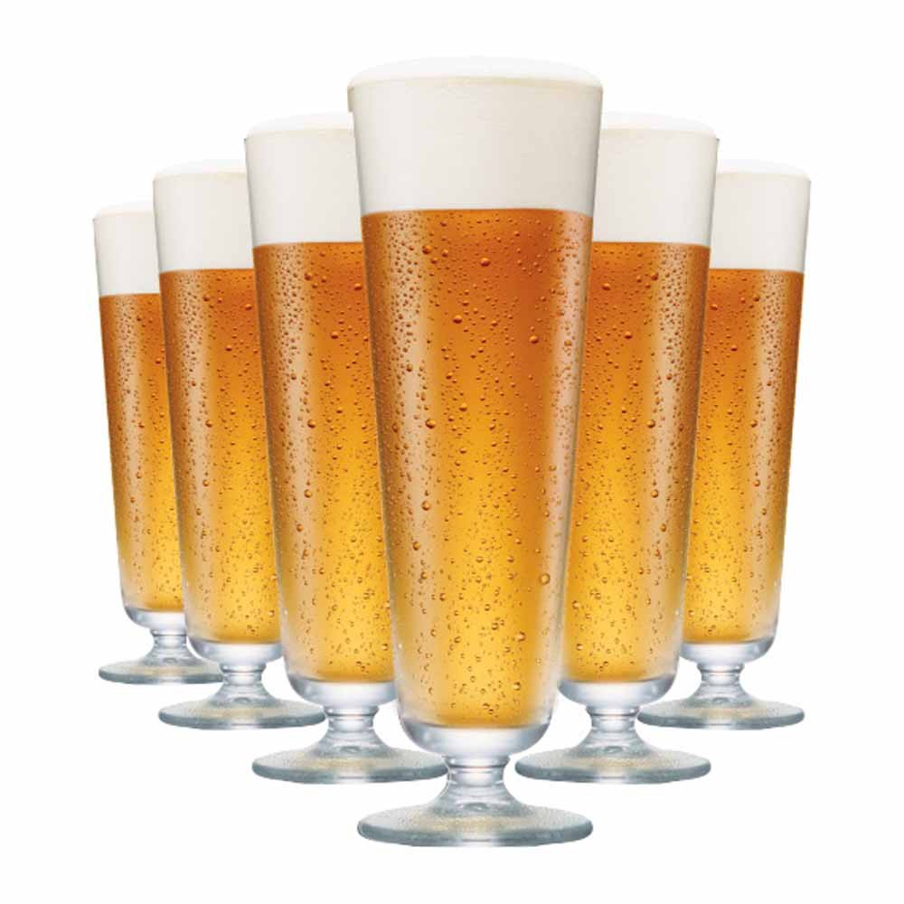 Jogo de Taças Cerveja Prestige M Cristal 510ml 6 Pcs