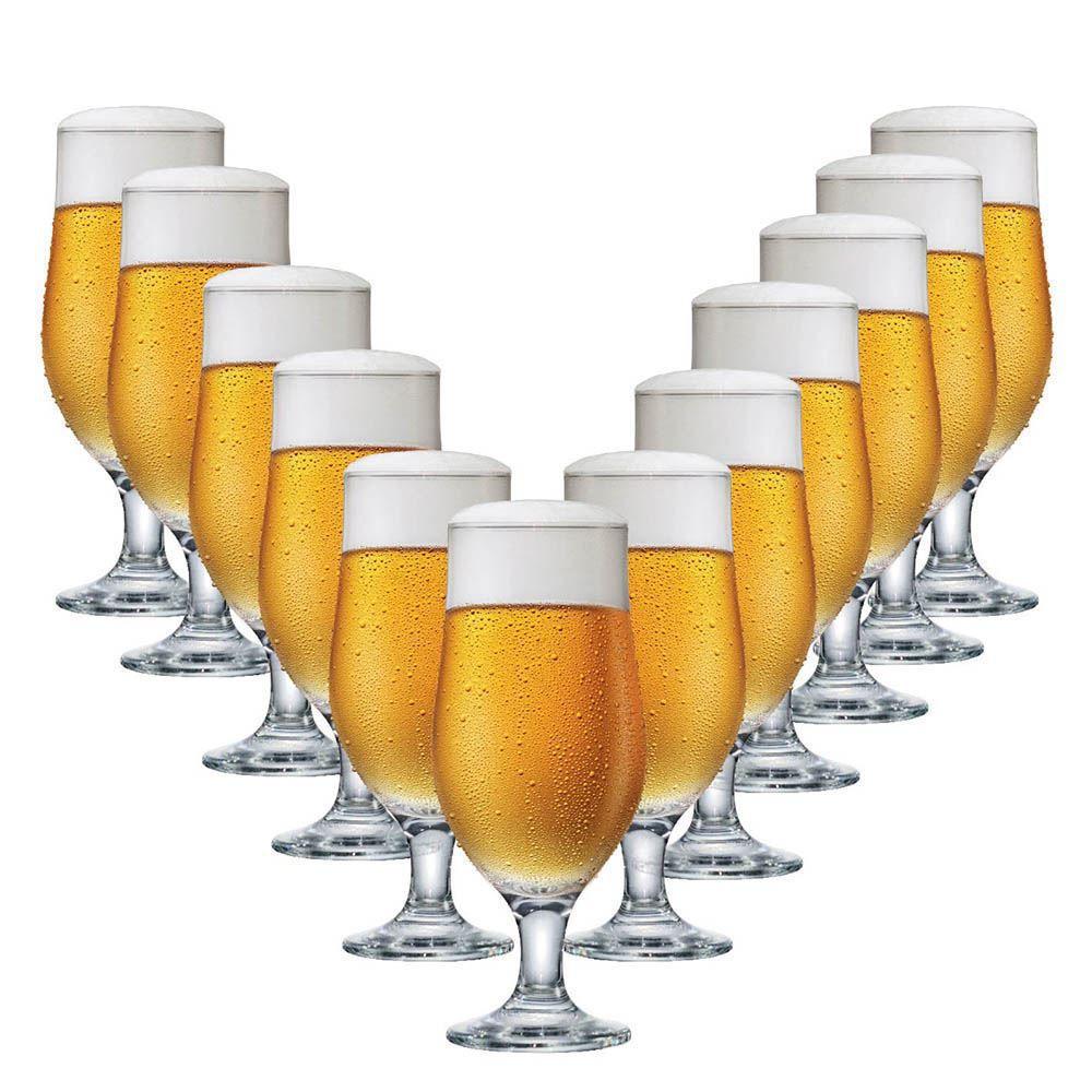 Jogo de Taças Cerveja Royal Beer Vidro 330ml 12 Pcs