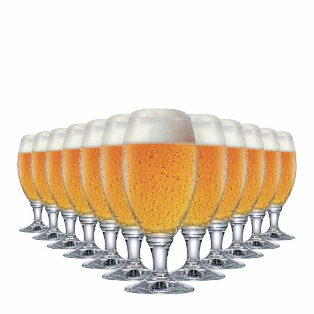 Jogo de Taças Cerveja Sevilla G Vidro 530ml 12 Pcs