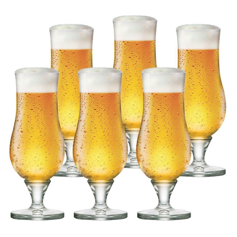 Jogo de Taças Cerveja Warst Cristal 340ml 6 Pcs