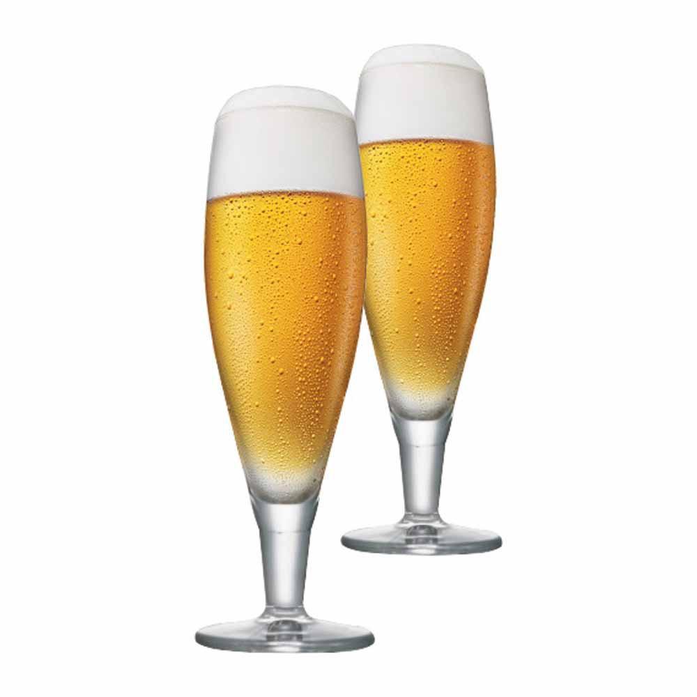 Jogo de Taças de Cerveja Alsdorf Cristal 390ml 2 Pcs