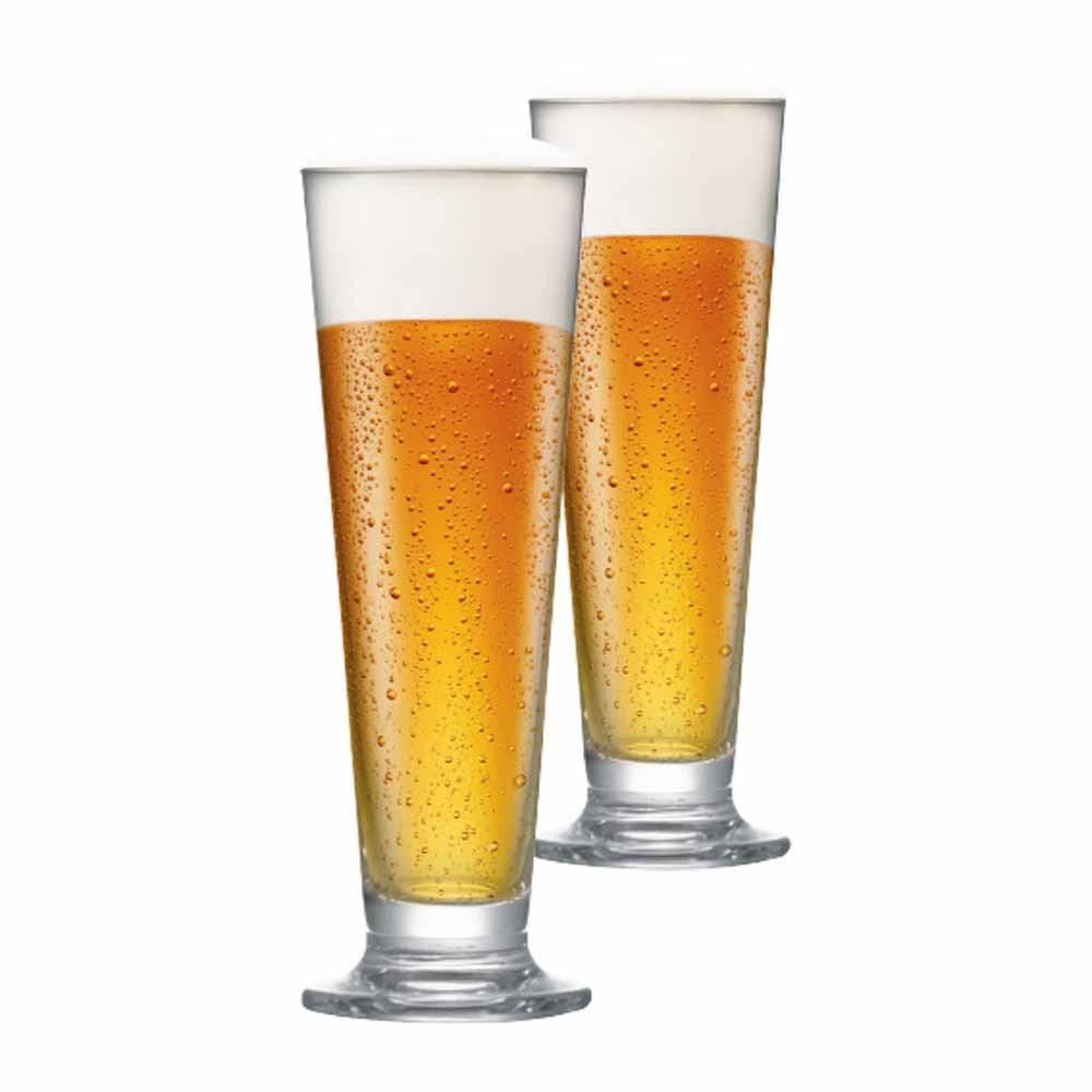Jogo de Taças de Cerveja Arena M Cristal 385ml 2 Pcs