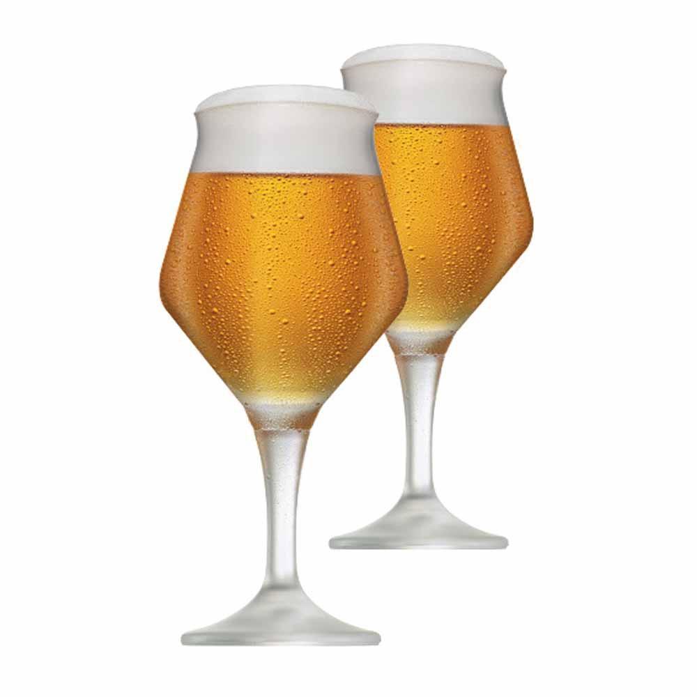 Jogo de Taças de Cerveja Beer Sommelier Alta Cristal 430ml 2 Pcs