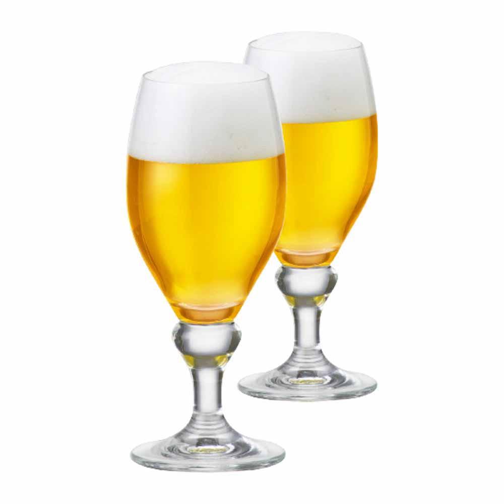 Jogo de Taças de Cerveja Continental M Cristal 385ml 2 Pcs