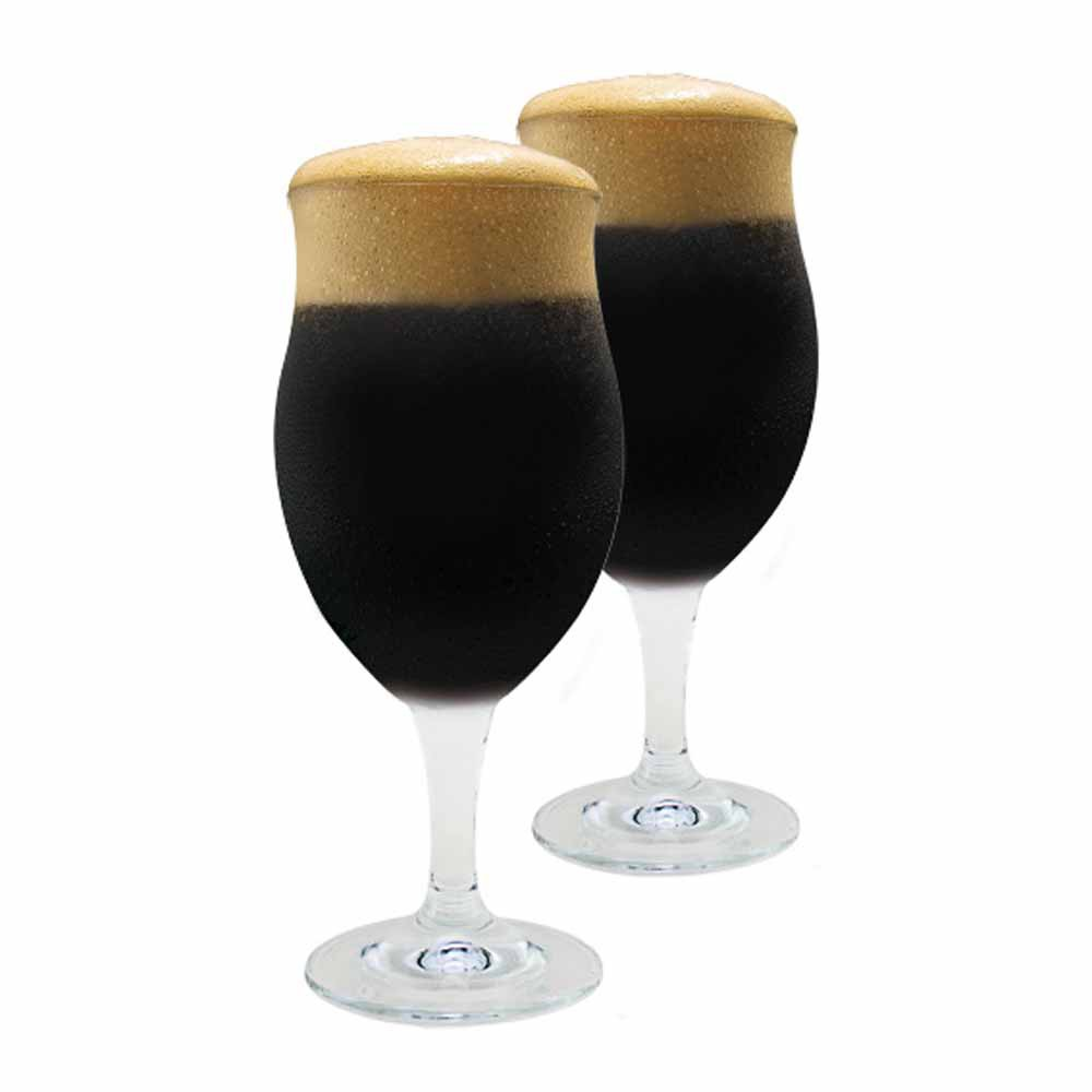 Jogo de Taças de Cerveja Dark Bier Cristal 440ml 2 Pcs