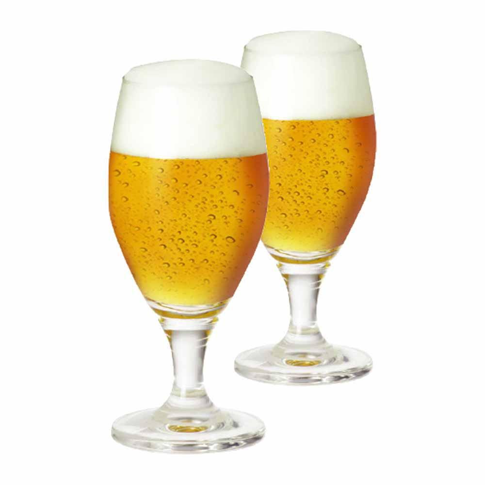 Jogo de Taças de Cerveja Deister M Cristal 395ml 2 Pcs