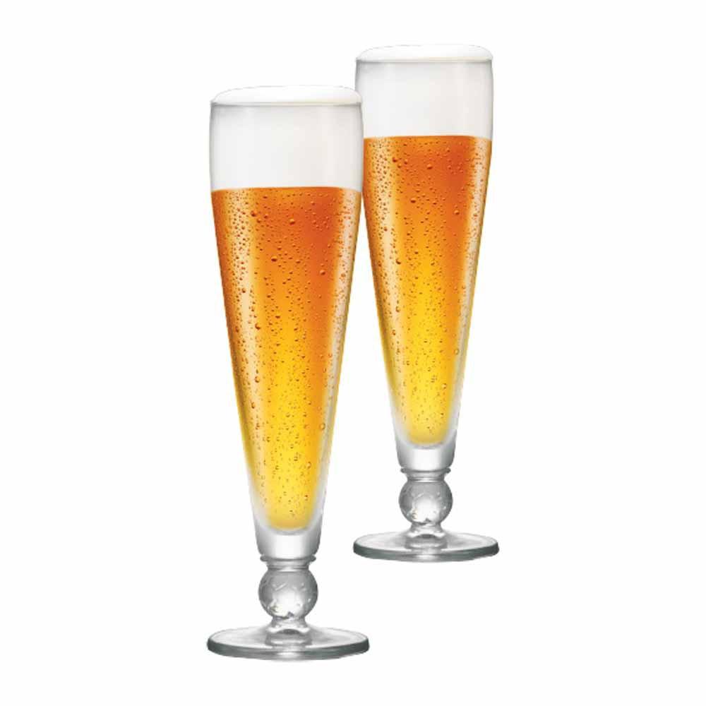 Jogo de Taças de Cerveja Futebol Ferrara Cristal 375ml 2 Pcs