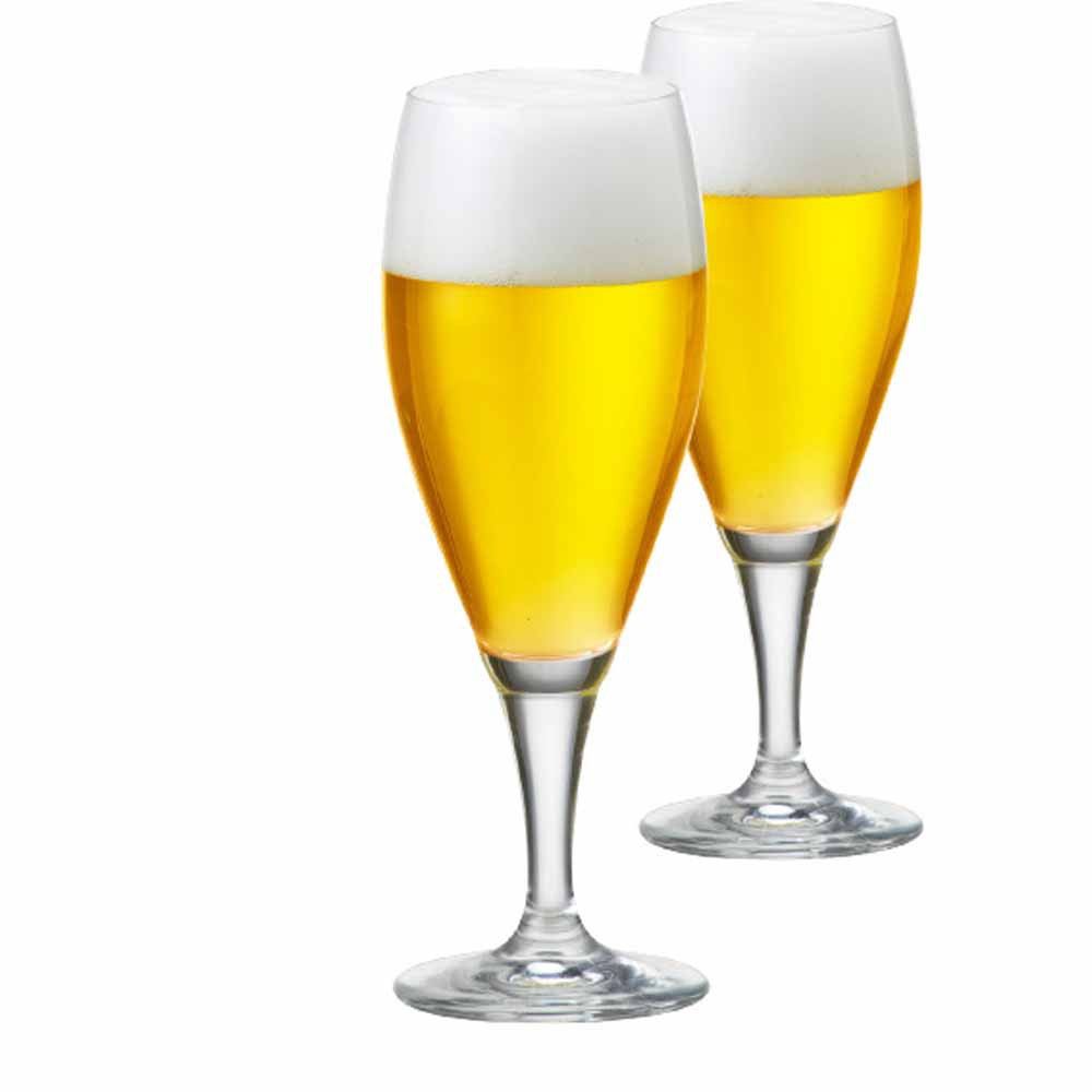 Jogo de Taças de Cerveja Gourmet M Cristal 400ml 2 Pcs