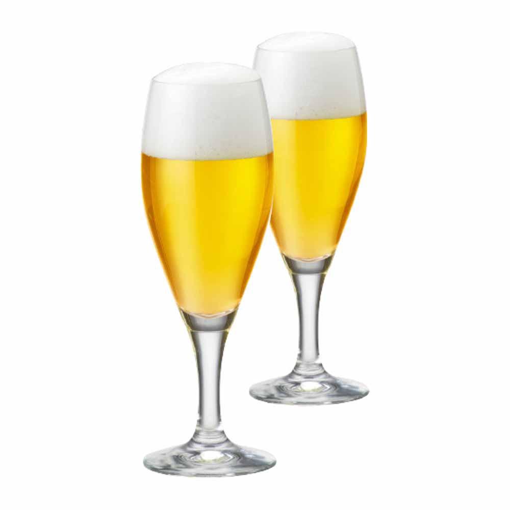 Jogo de Taças de Cerveja Gourmet P Cristal 320ml 2 Pcs