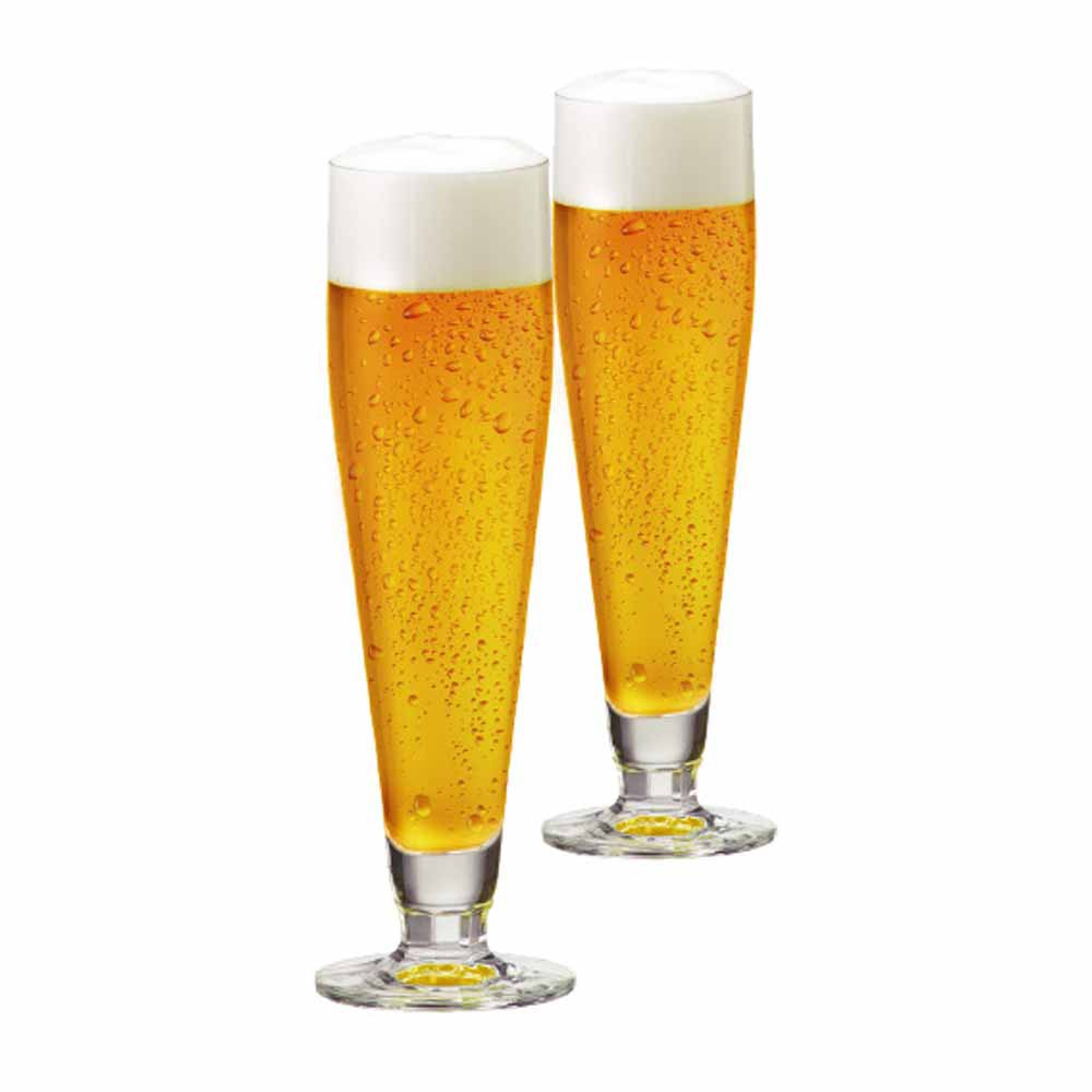 Jogo de Taças de Cerveja Halle Cristal 385ml 2 Pcs