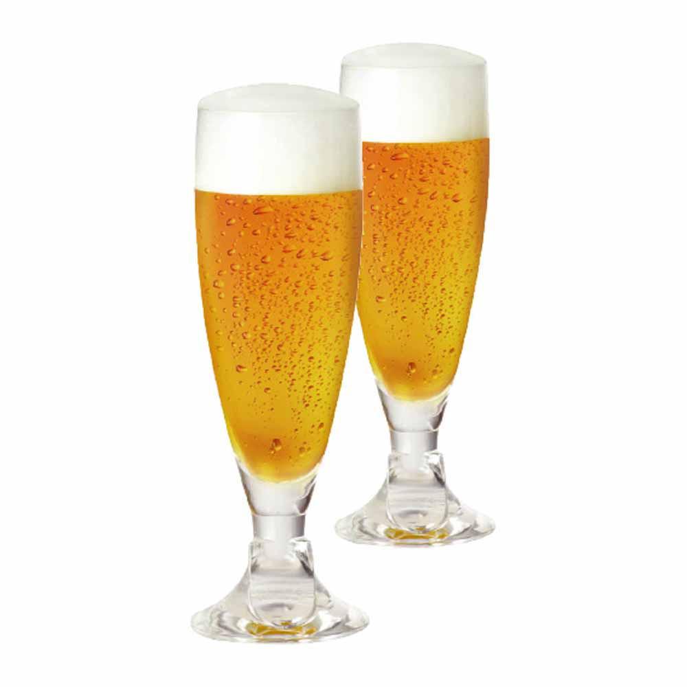 Jogo de Taças de Cerveja Heroldik Cristal 330ml 2 Pcs