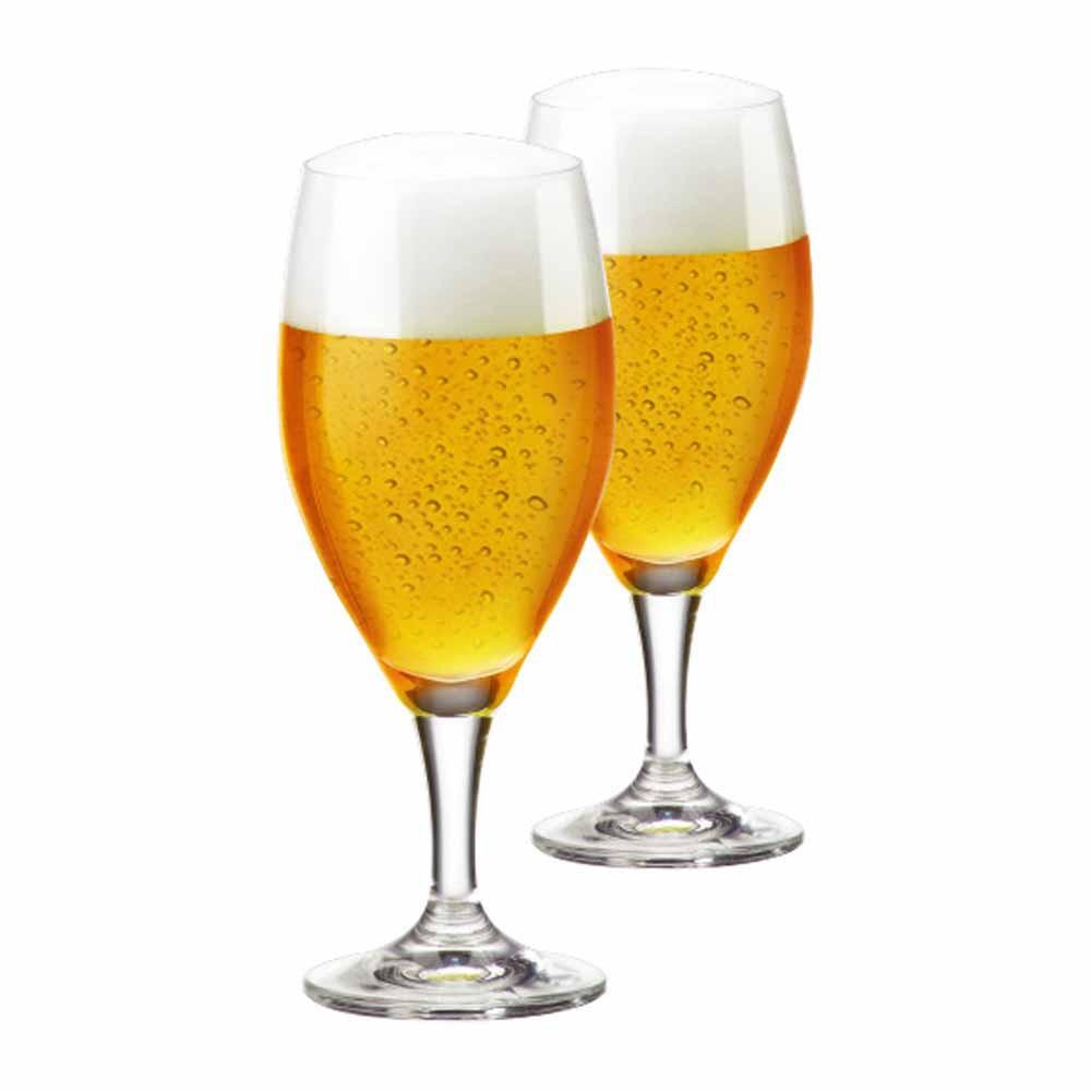 Jogo de Taças de Cerveja Holsten Cristal 400ml 2 Pcs