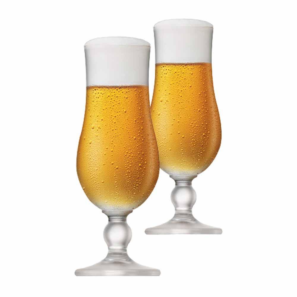Jogo de Taças de Cerveja Kassel Cristal 400ml 2 Pcs