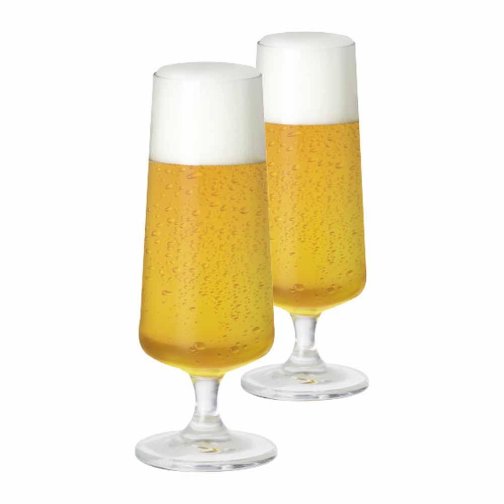 Jogo de Taças de Cerveja Leed Cristal 365ml 2 Pcs
