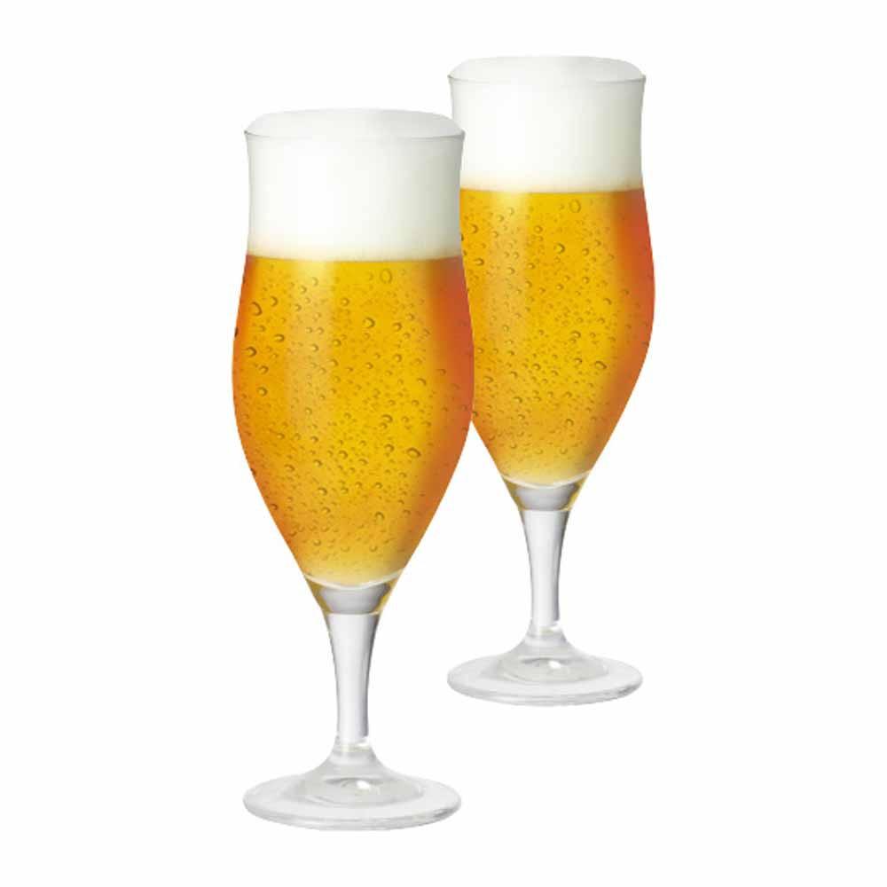 Jogo de Taças de Cerveja Lubzer G Cristal 390ml 2 Pcs
