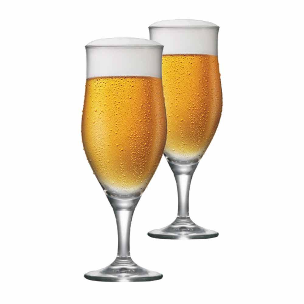 Jogo de Taças de Cerveja Lubzer P Cristal 260ml 2 Pcs