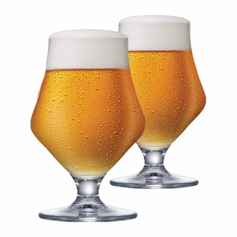Jogo de Taças de Cerveja Maritim Cristal 410ml 2 Pcs