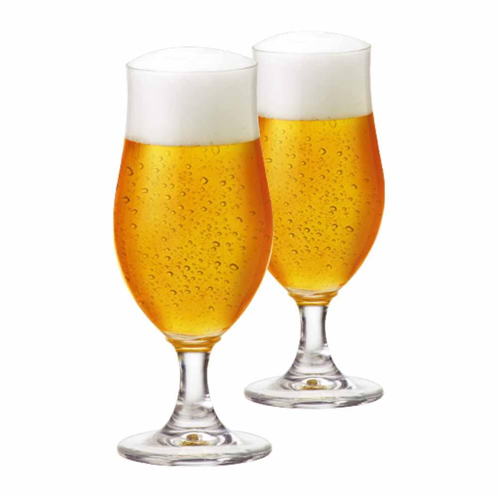 Jogo de Taças de Cerveja Nevada P Cristal 325ml 2 Pcs