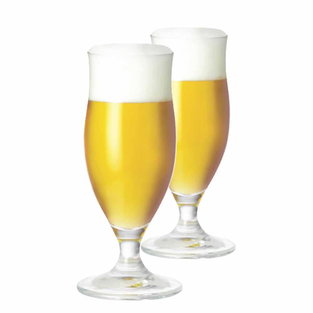 Jogo de Taças de Cerveja Paris M Cristal 385ml 2 Pcs