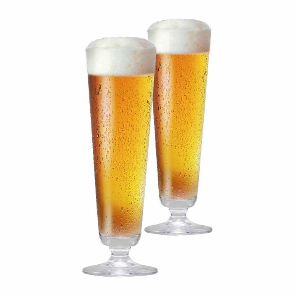 Jogo de Taças de Cerveja Prestige P Cristal 325ml 2 Pcs