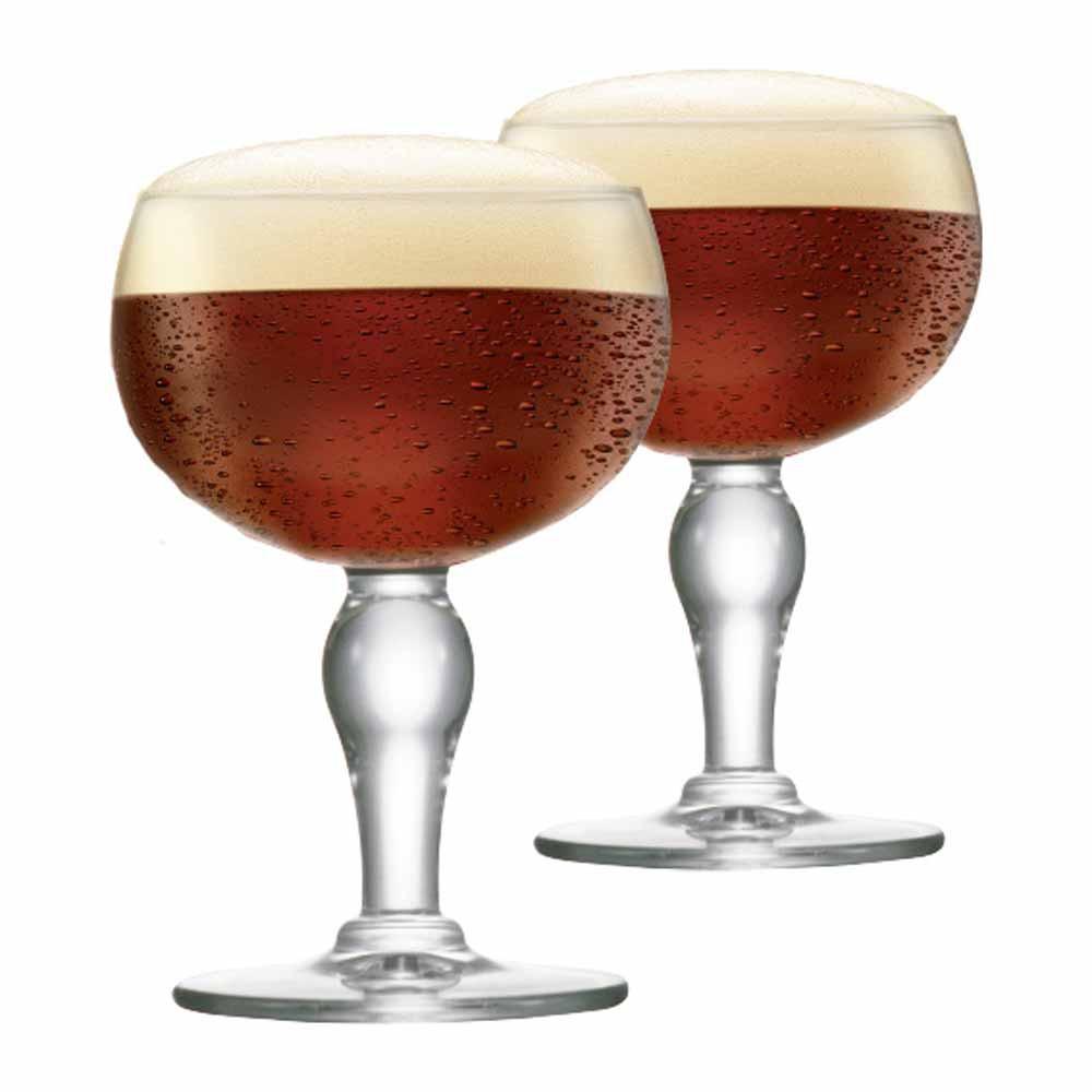 Jogo de Taças de Cerveja Rochefort Cristal 445ml 2 Pcs