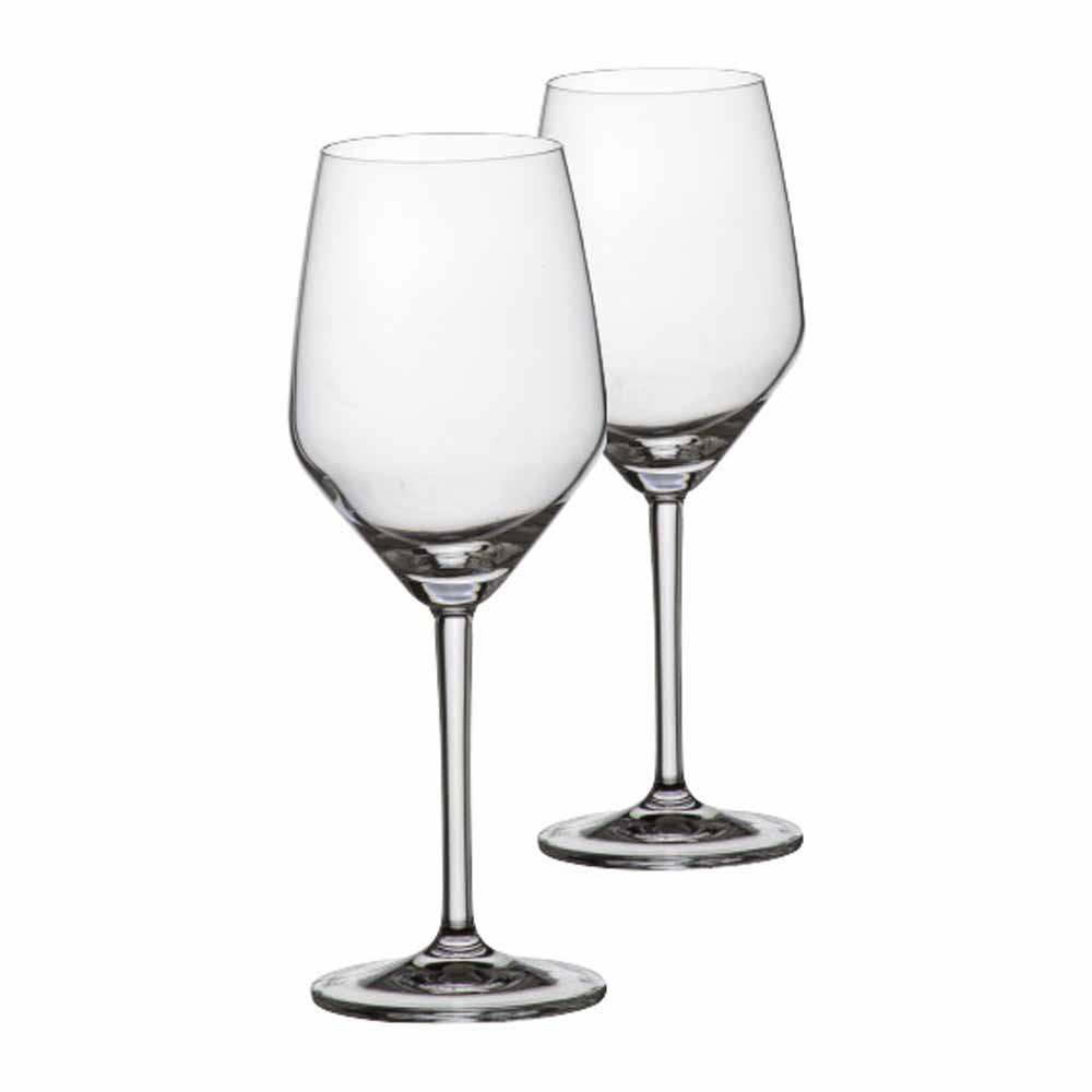 Jogo de Taças de Vinho Branco Elegance Cristal 375ml 2 Pcs