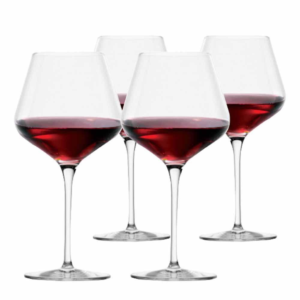 Jogo de Taças de Vinho Branco Passion Burgundy Cristal 640ml 4 Pcs
