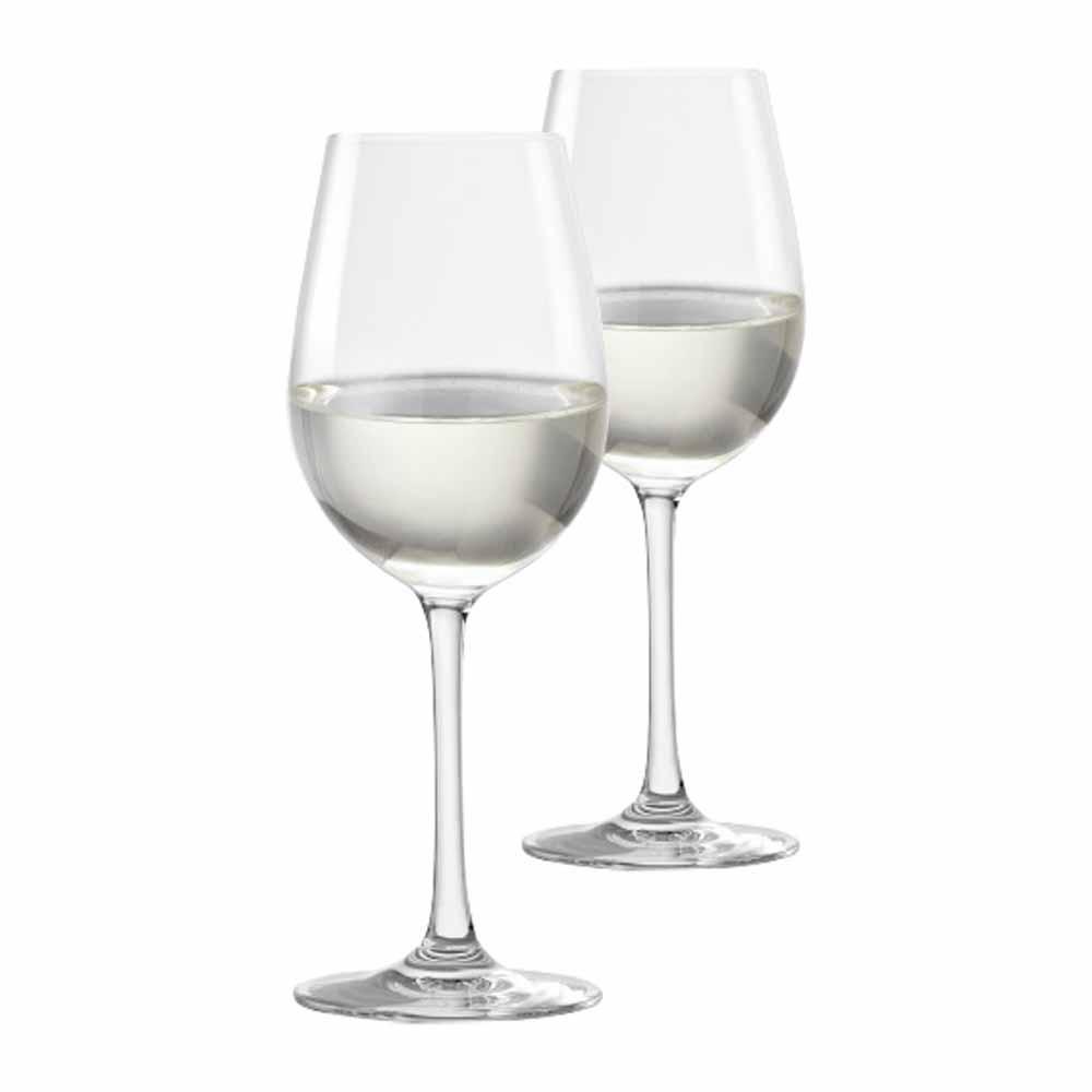 Jogo de Taças de Vinho Branco Sensation Cristal 390ml 2 Pcs