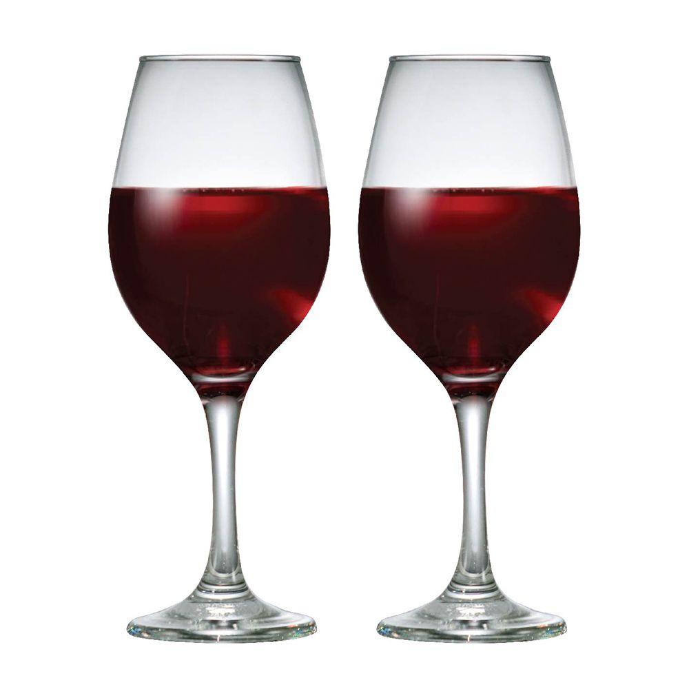 Jogo de Taças de Vinho Tinto One Vidro 385ml 2 Pcs