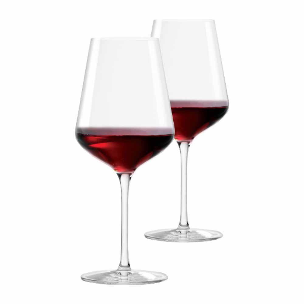 Jogo de Taças de Vinho Tinto Passion Cristal 540ml 2 Pcs