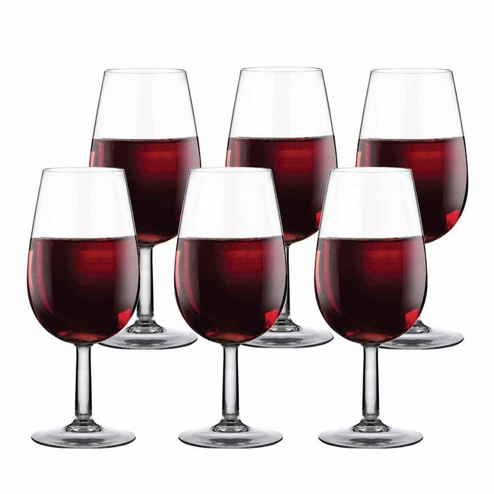 Jogo de Taças Vinho Bourbon Degustação Vidro 210ml 6 Pcs