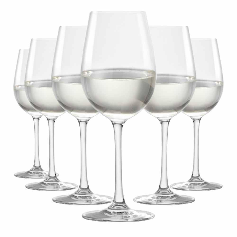 Jogo de Taças vinho Branco Sensation Cristal 390ml 6 Pcs