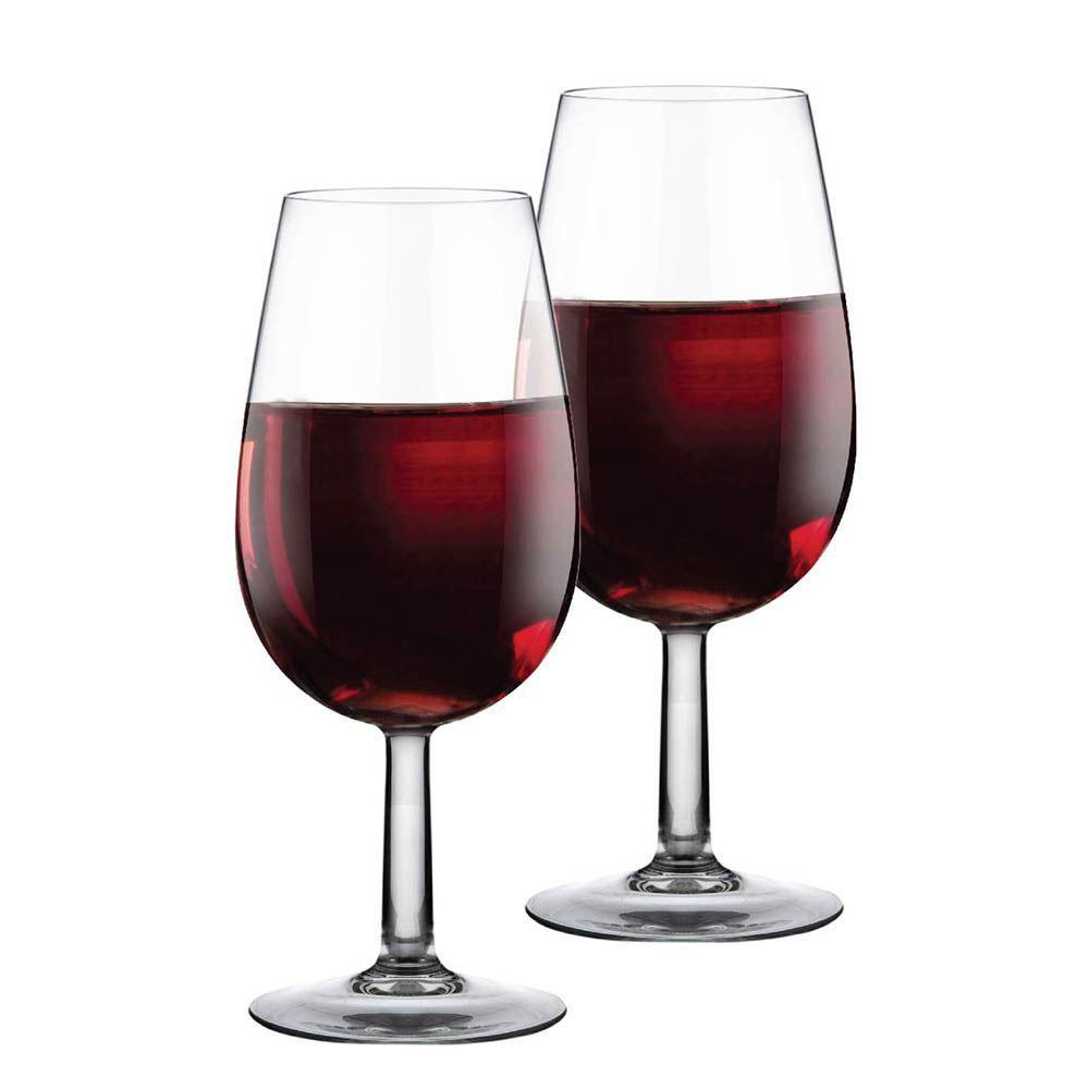 Jogo de Taças Vinho ISO Bourbon Degustação Vidro 210ml 2 Pcs