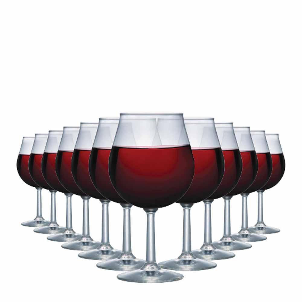 Jogo de Taças Vinho Tinto Antuerpia Vidro 505ml 12 Pcs