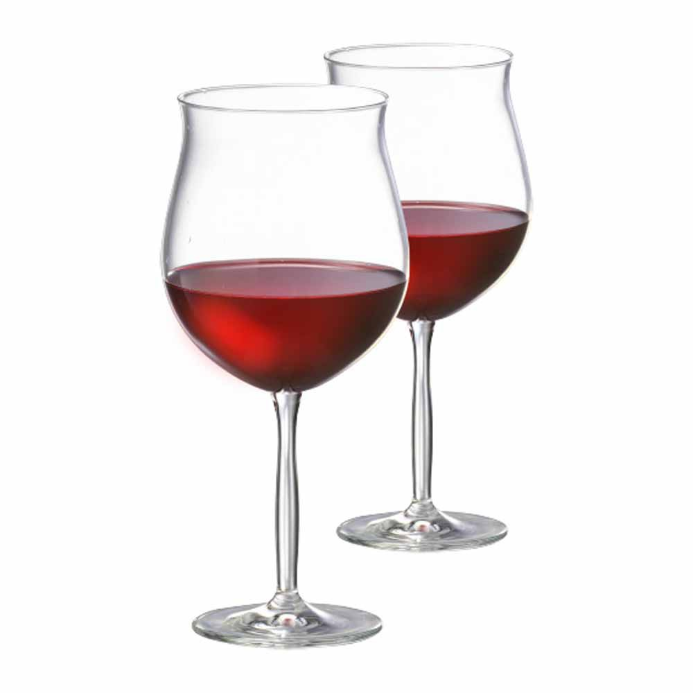 Jogo de Taças Vinho Tinto Bordeaux Gran Cristal 675ml 2 Pcs