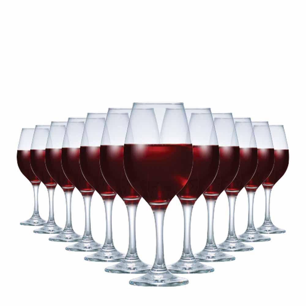 Jogo de Taças Vinho Tinto One Vidro 385ml 12 Pcs