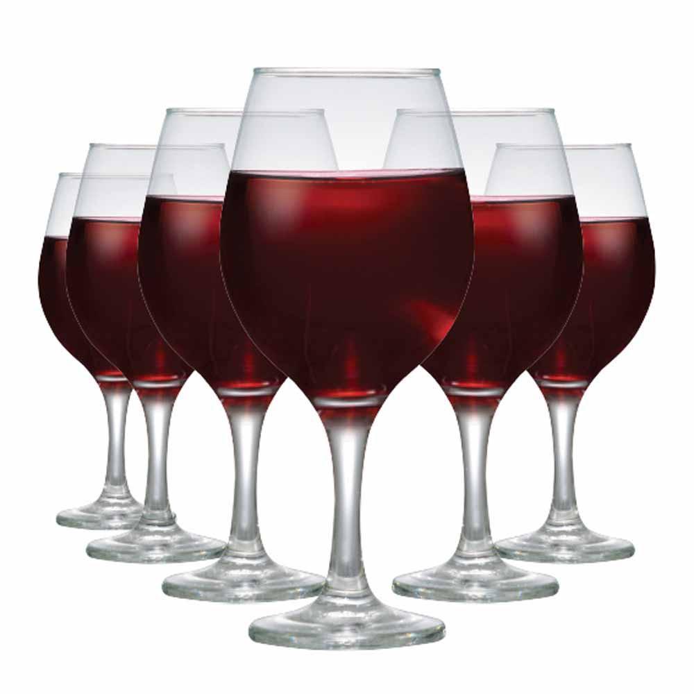 Jogo de Taças Vinho Tinto One Vidro 600ml 6 Pcs