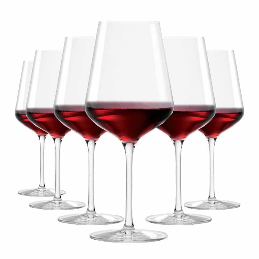 Jogo de Taças Vinho Tinto Passion Cristal 540ml 6 Pcs