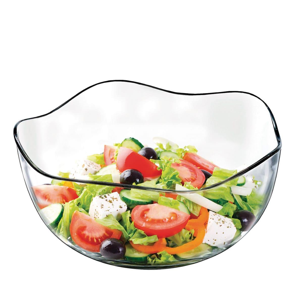 Saladeira de Vidro Wave C 3840ml (Caixa com 6 unidades)
