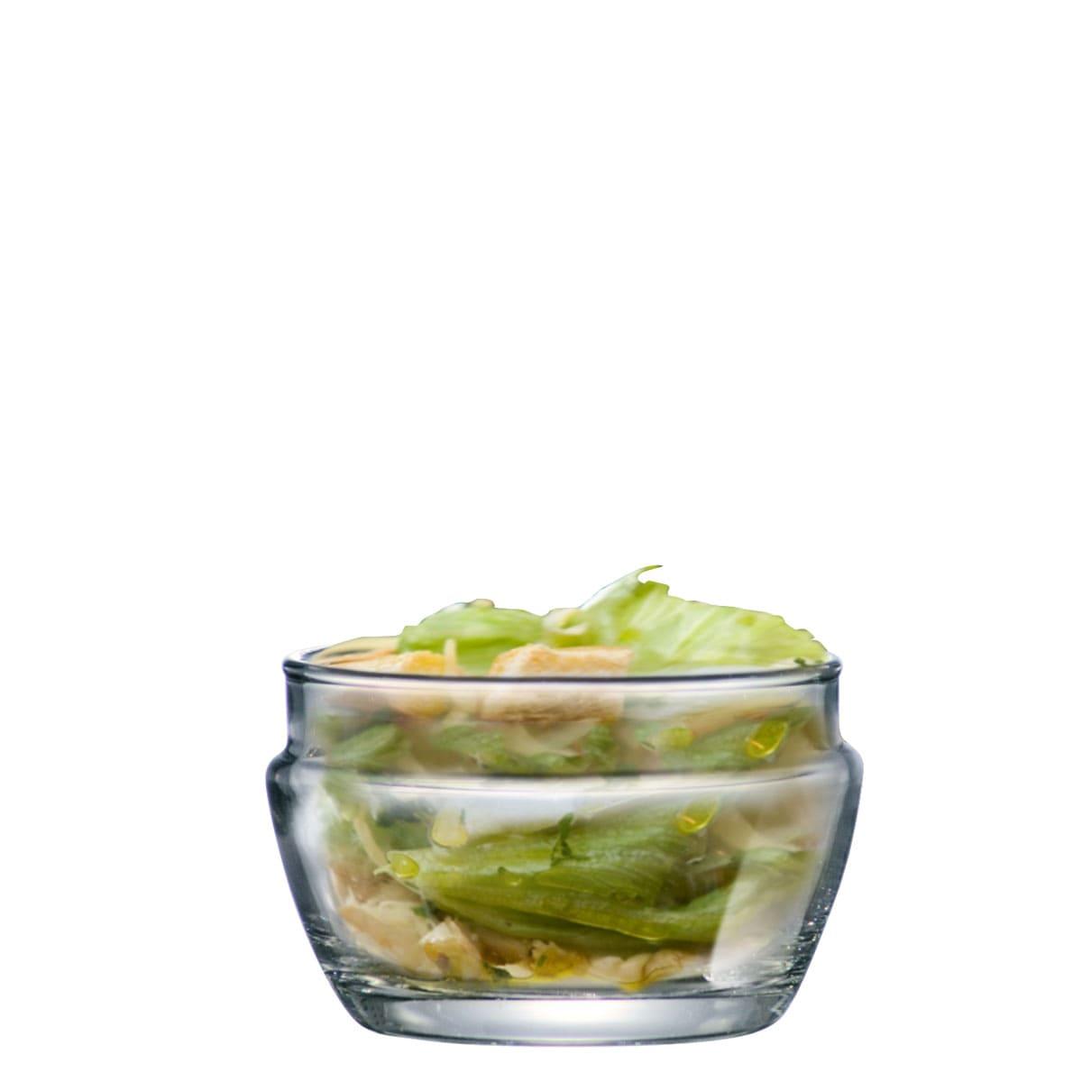 Saladeira Lotus de Vidro (Caixa com 12 unidades)