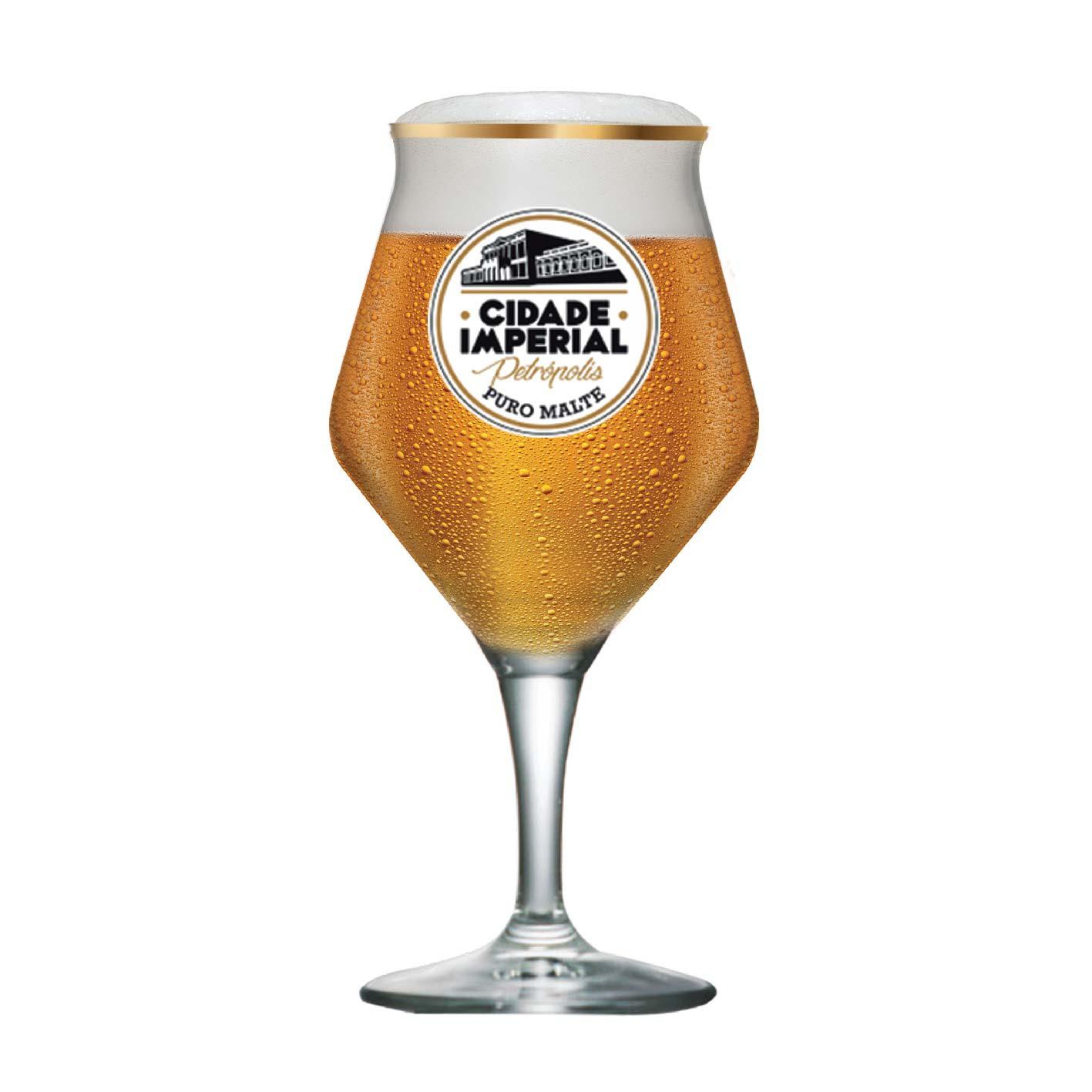 Taça de Cerveja Beer Sommelier C. Imperial Cristal 435ml