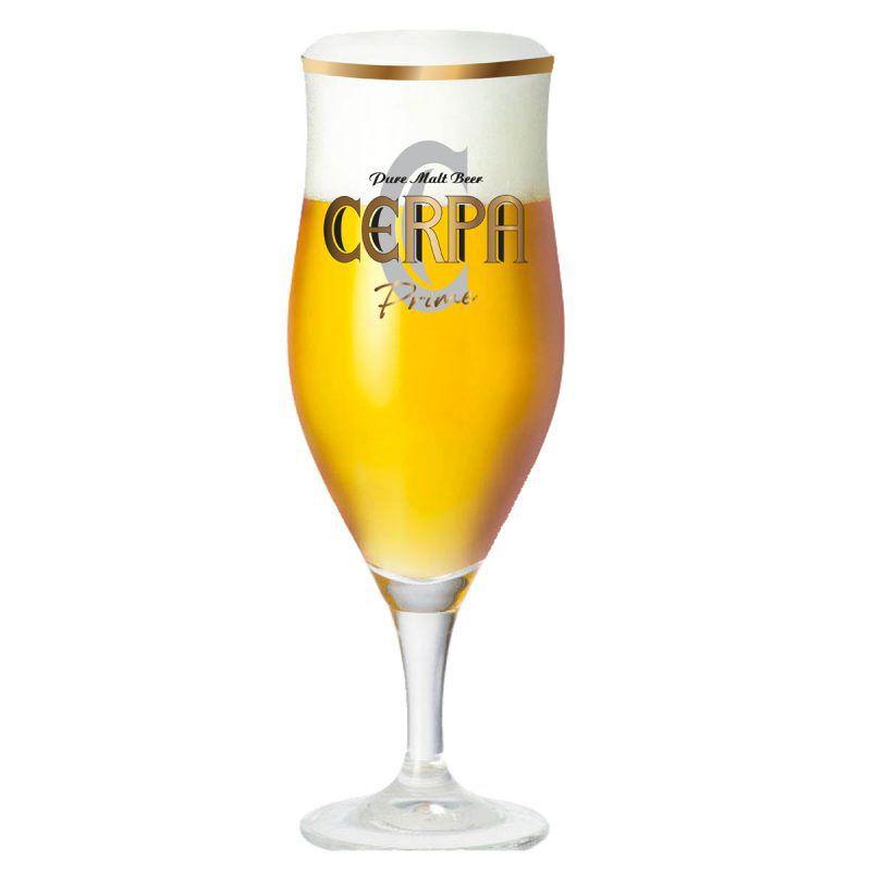 Taça de Cerveja Cerpa Prime Cristal 260ml