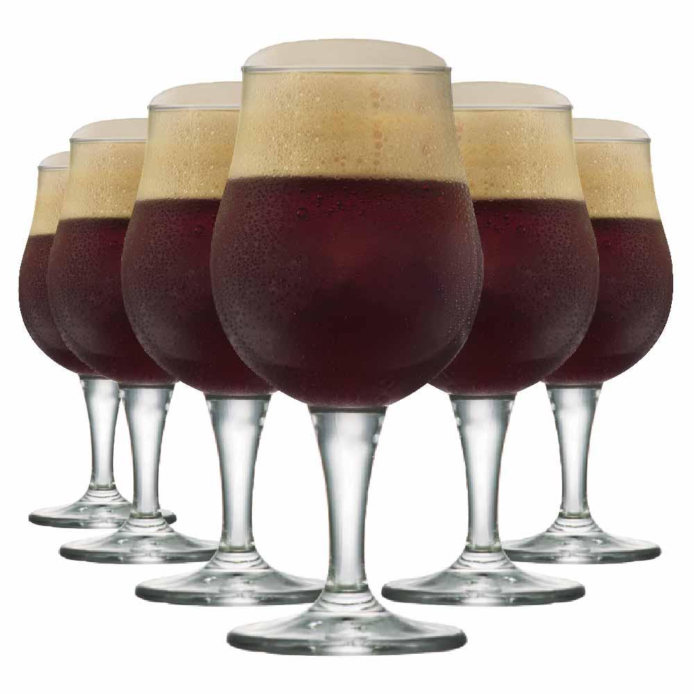 Taça de Cerveja de Cristal Mason G 660ml 6 Pcs