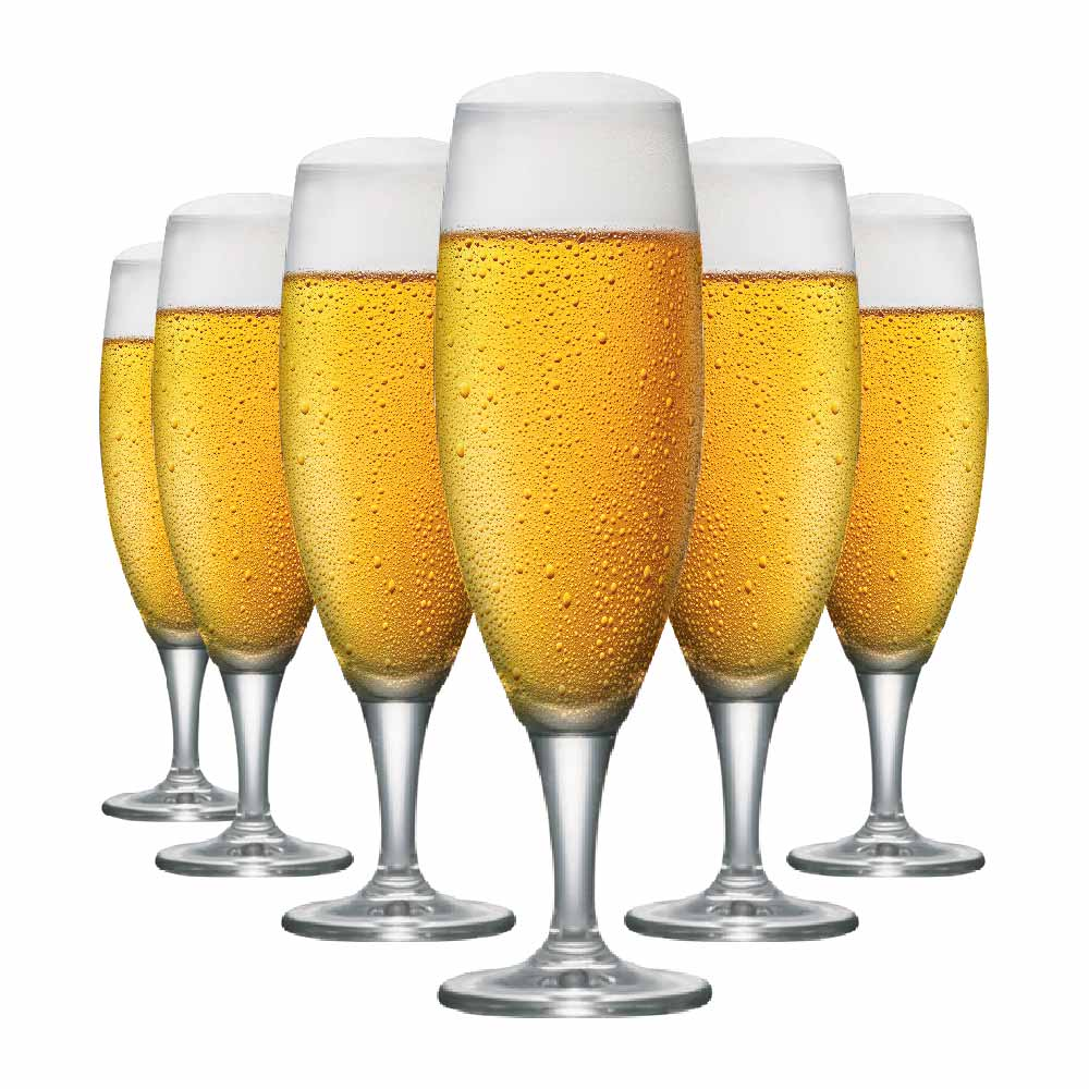 Taça de Cerveja de Cristal Montana G 485ml 6 Pcs
