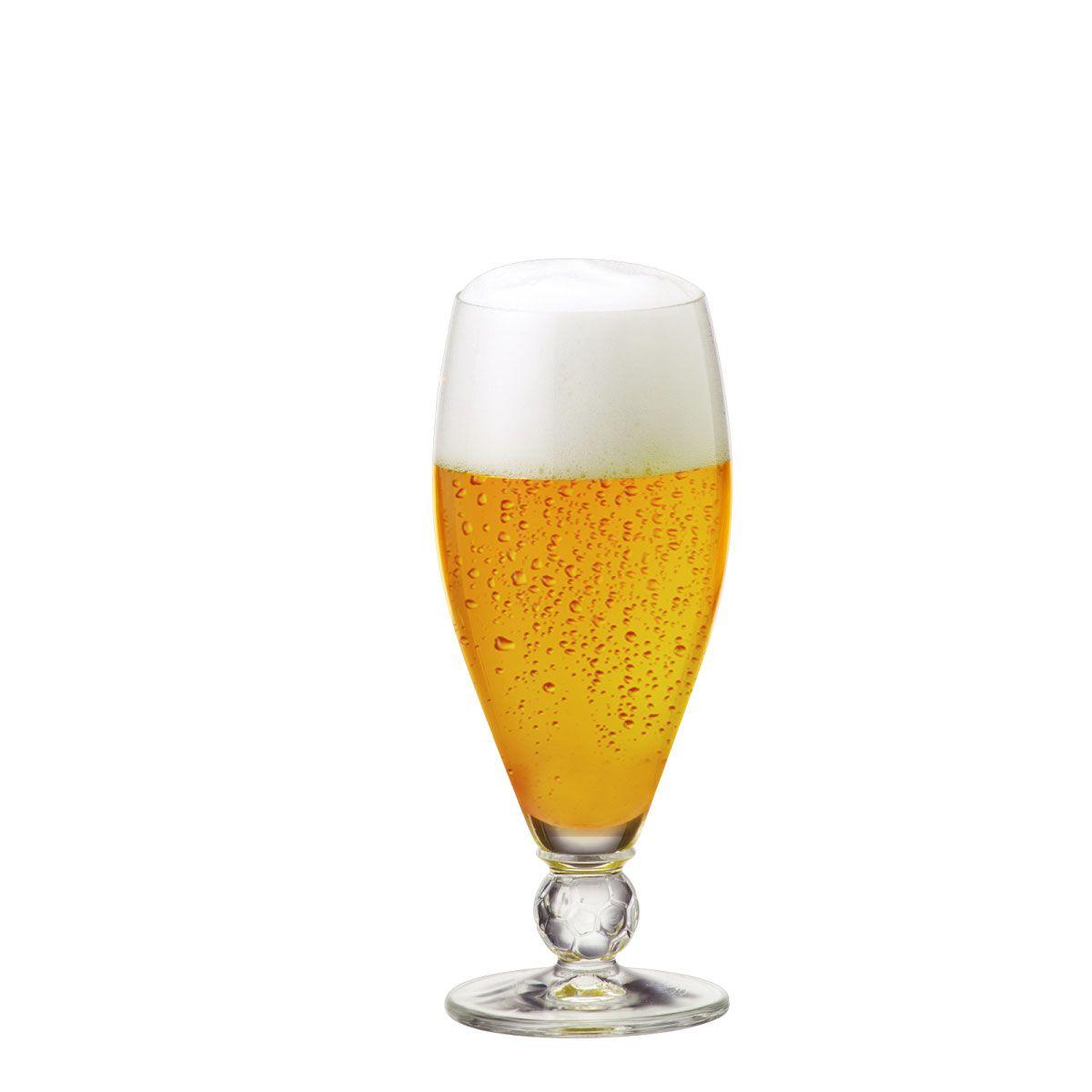 Taça de Cerveja Futebol Cristal 395ml