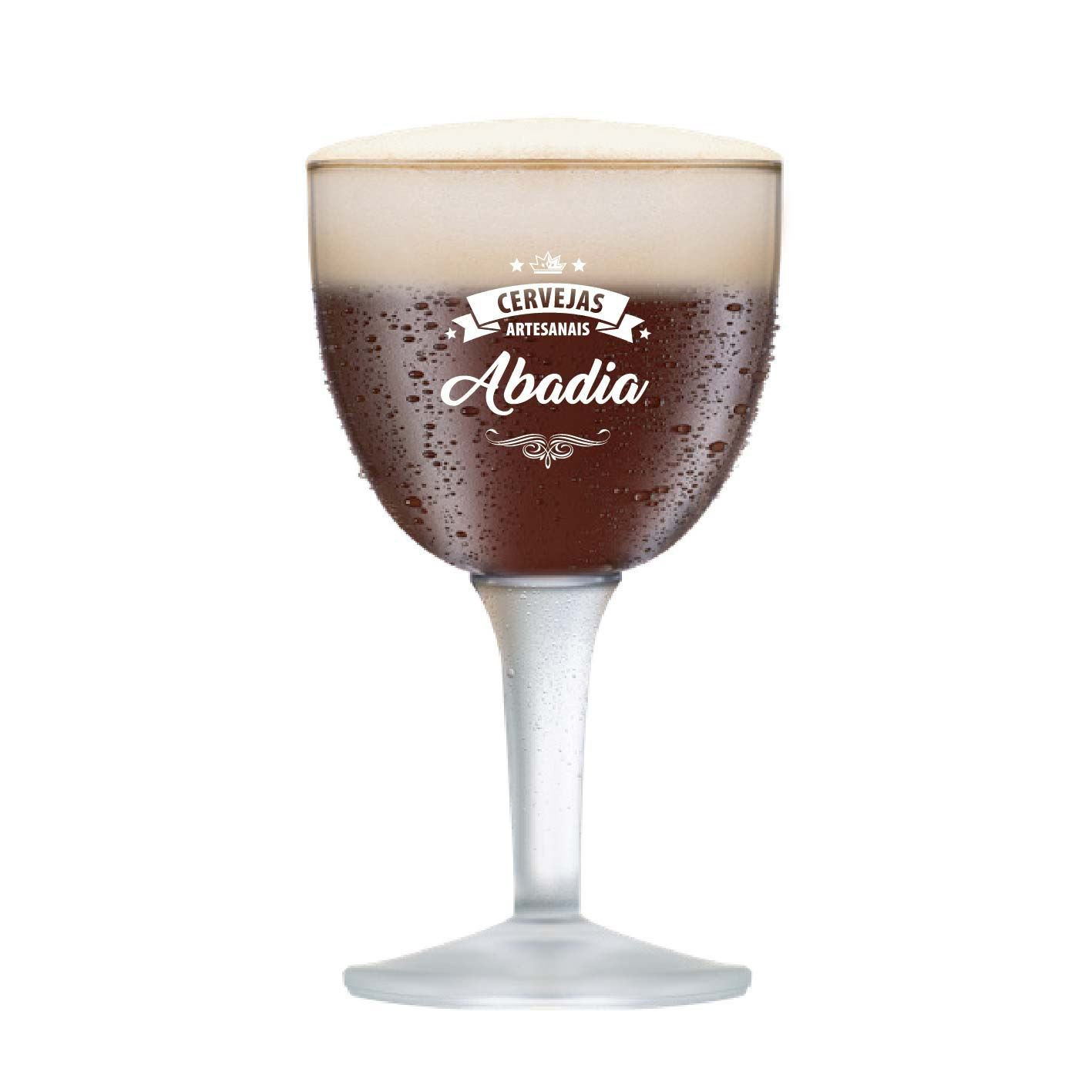 Taça de Cerveja Instituto Sommelier Abadia Cristal 470ml