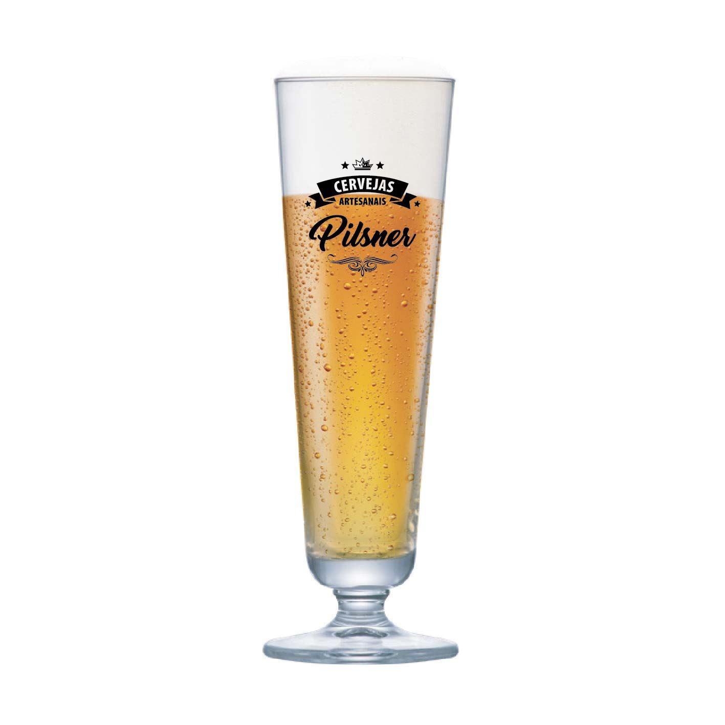 Taça de Cerveja Instituto Sommelier Pilsner Cristal 325ml